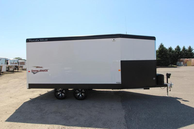 2018 Trails West Manufacturing RPM 20 BP Snowmobile Trailer