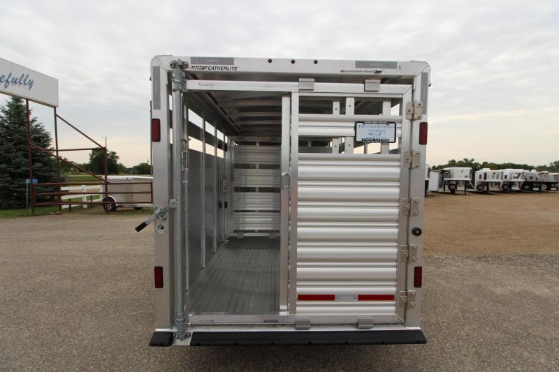 2019 Featherlite 8107 16 BP Livestock Trailer