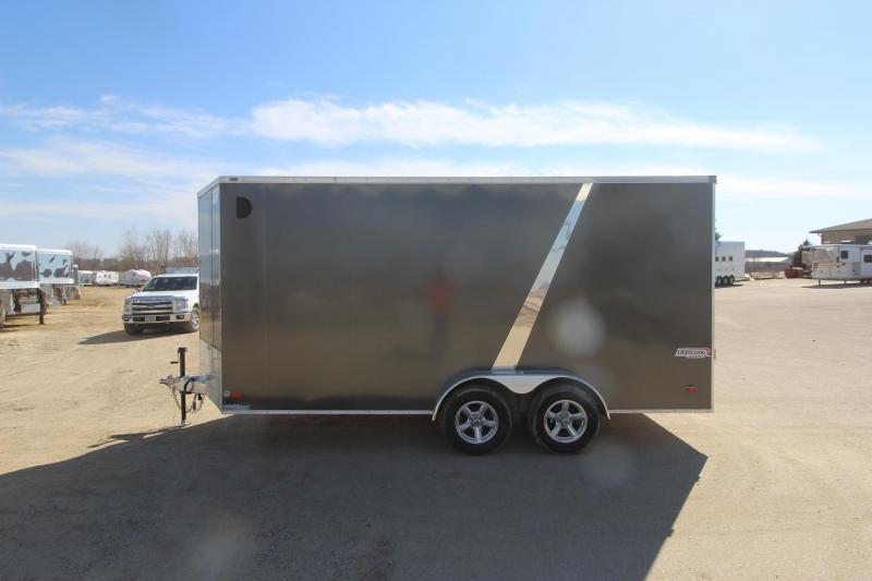 2019 Bravo Trailers Alum Scout 7x16 Enclosed Cargo Trailer