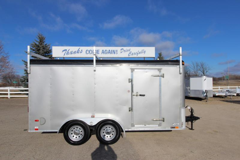 2014 United Trailers 7x14 Enclosed Cargo Trailer
