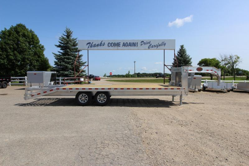 2019 Sundowner Trailers 25XL 20 5' Flatbed Trailer in Exeland, WI