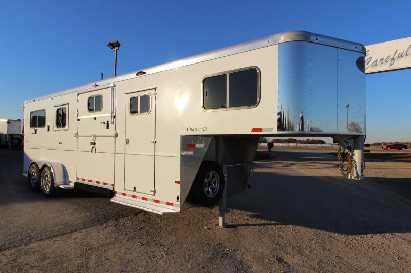 2019 Sundowner Trailers Charter 2 1 Horse Trailer