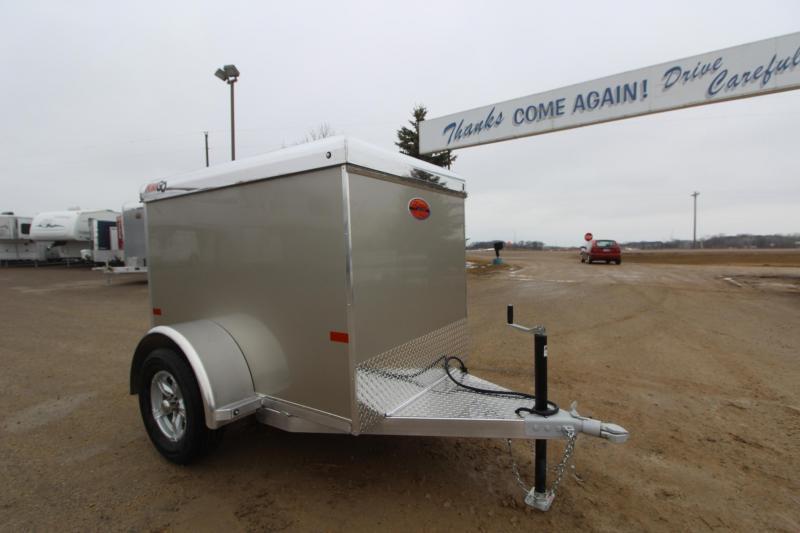 2019 Sundowner Trailers Mini Go 4x6 Enclosed Cargo Trailer