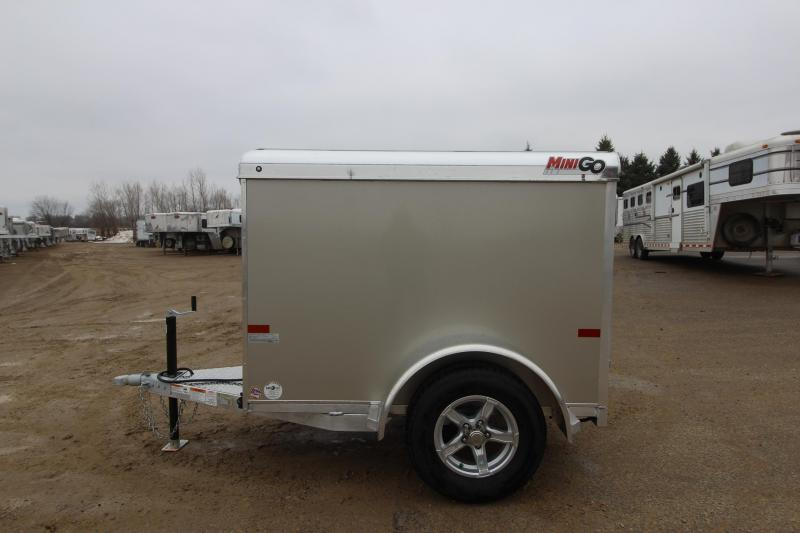 4x6 Enclosed Trailer >> 2019 Sundowner Trailers Mini Go 4x6 Enclosed Cargo Trailer