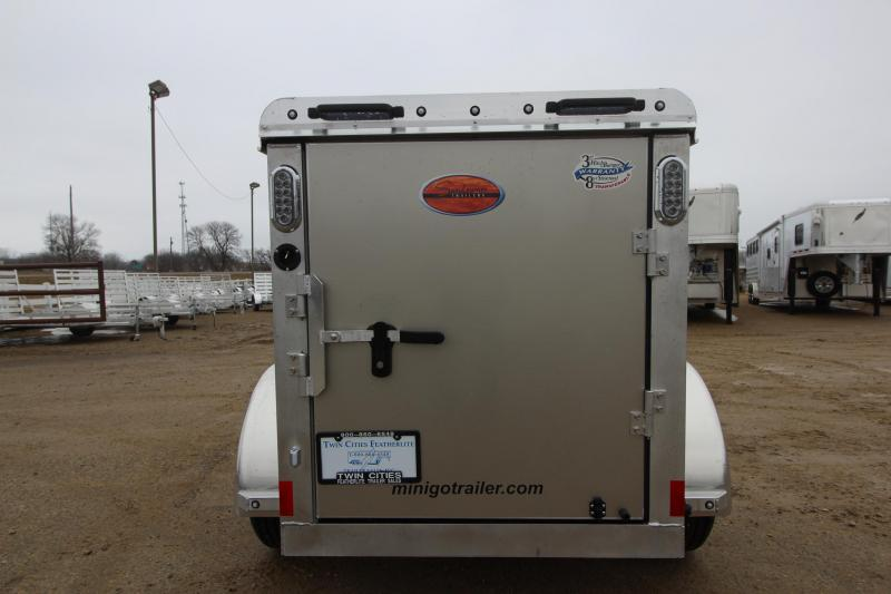 2019 Sundowner Trailers Mini Go 4x6 Enclosed Cargo Trailer