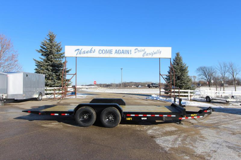 "2019 Big Tex Trailers 80"" x 20' Tilt Bed BP Flatbed Trailer in Edgewater, WI"
