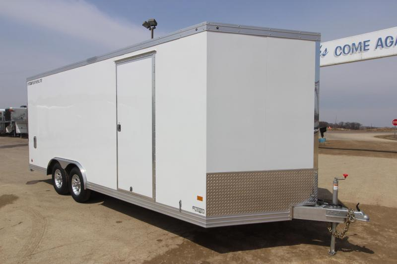 2017 Featherlite 1620 8.5x20 Car / Racing Trailer