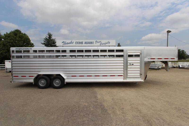 "2019 Featherlite 8127 7'6""(W) x 26'(L) Livestock Trailer in Ashburn, VA"