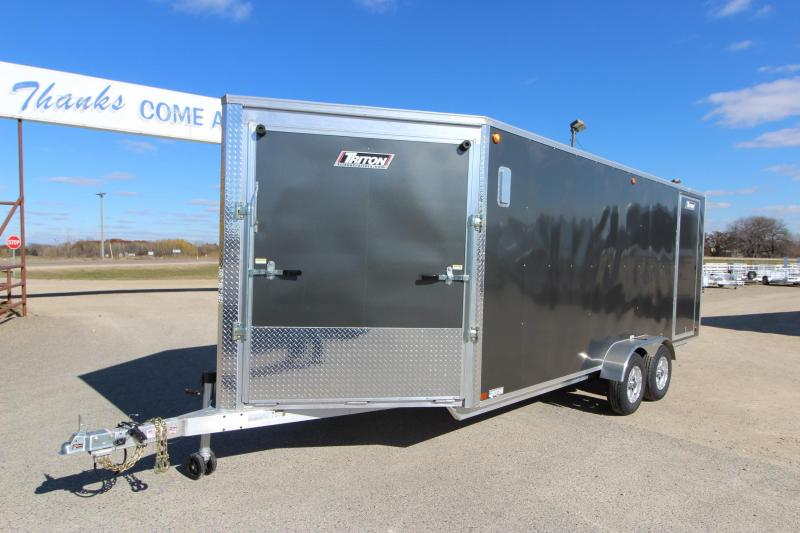2019 Triton XT187 7x18 Snowmobile Trailer