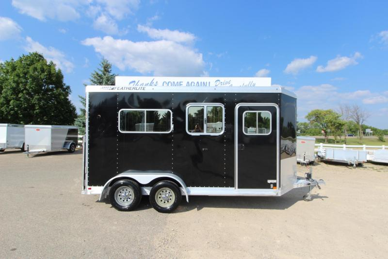 2013 Featherlite 9407 2HR BP Horse Trailer