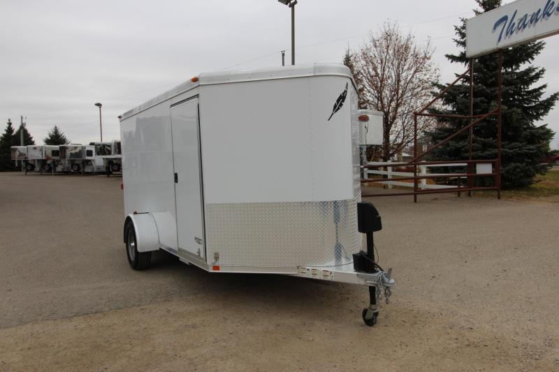 2009 Featherlite 1610 12 Enclosed Cargo Trailer