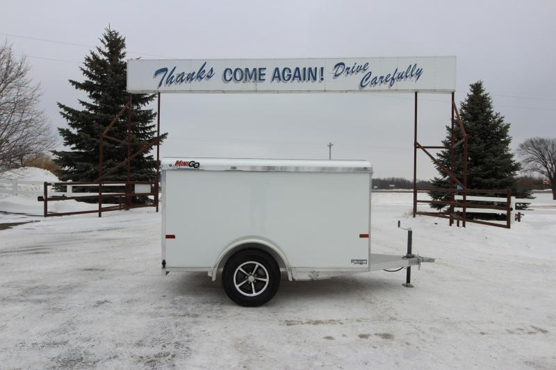 2019 Sundowner Trailers Mini Go 5x8 Enclosed Cargo Trailer