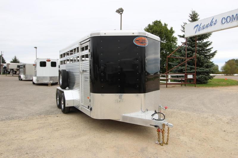 2019 Sundowner Trailers 16 BP Stockman Livestock Trailer