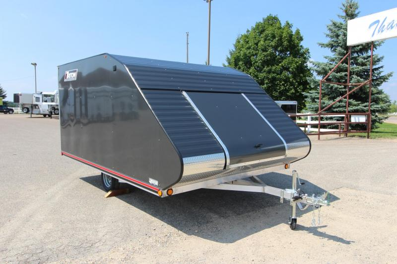 2019 Triton TC128 8x12 Snowmobile Trailer