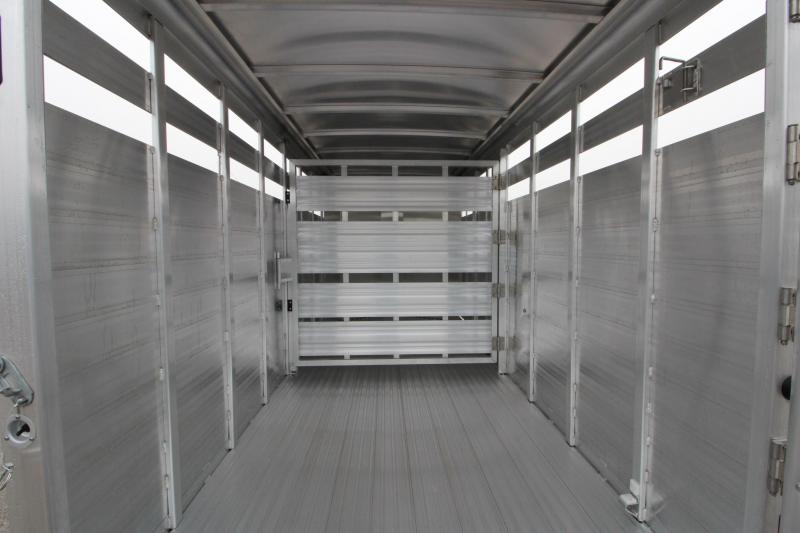 2019 Featherlite 8107 16 BP 7 H Livestock Trailer