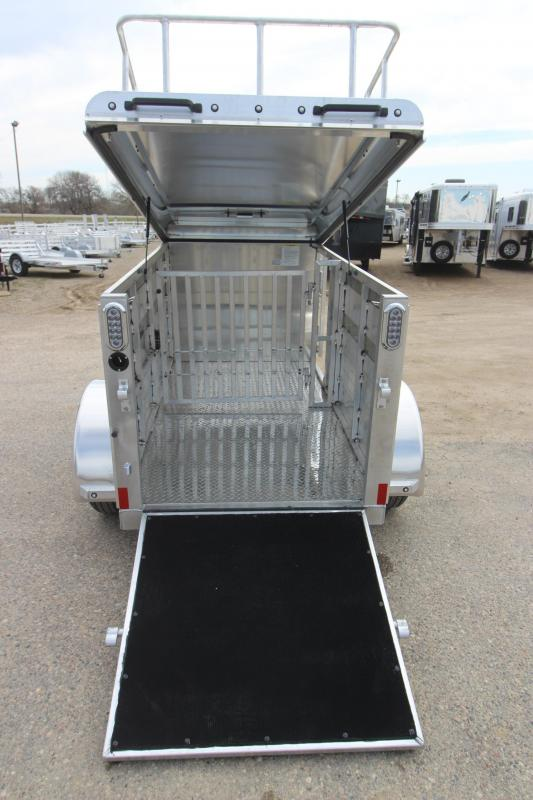 2020 Sundowner Trailers Mini Livestock Trailer