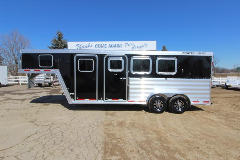 2019 Featherlite 8541 3HR GN Horse Trailer