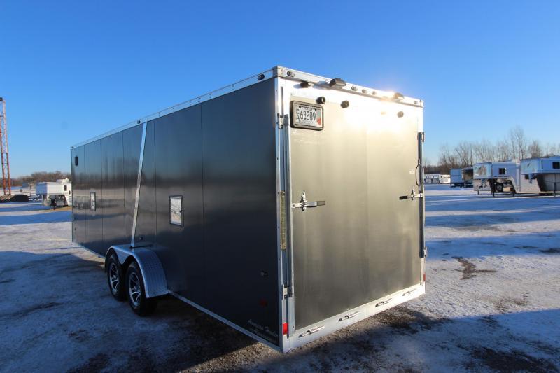 2014 American Hauler Industries 24 plus 5 v nose Snowmobile Trailer