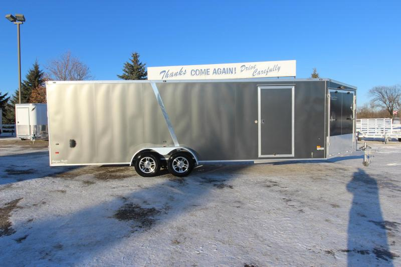 2014 American Hauler Industries 24 plus 5 v nose Snowmobile Trailer