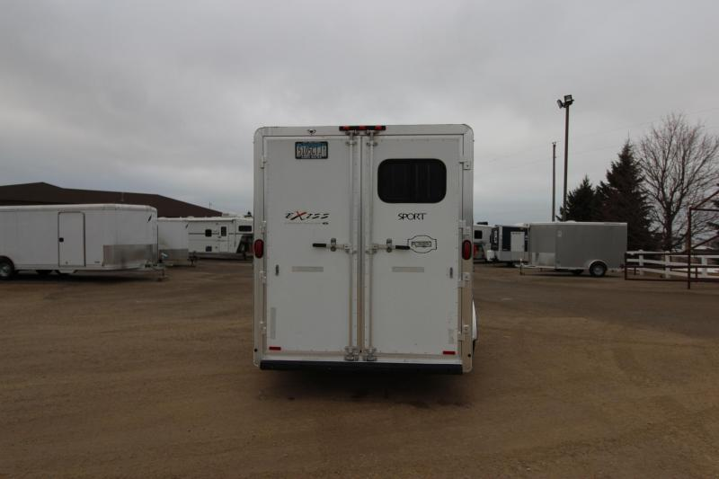 2004 Exiss Trailers 4HR Weekender Horse Trailer