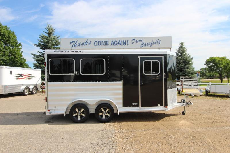 2015 Featherlite 9409 2HR BP Horse Trailer