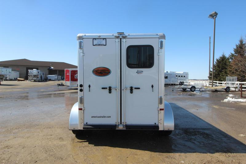 2019 Sundowner Trailers 2HR GN Horse Trailer