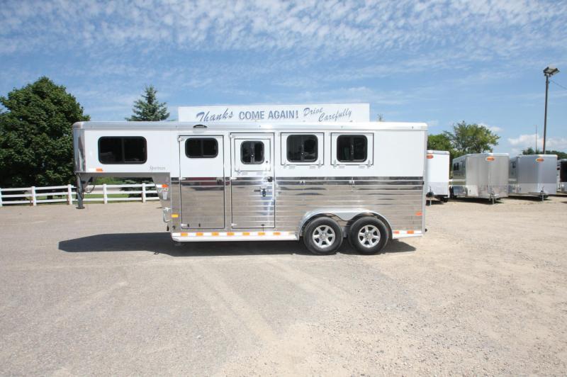 2017 Sundowner 3 horse slant gooseneck
