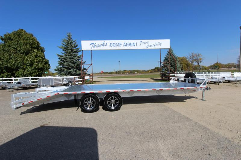 2018 Sundowner Trailers 9624MPBP Flatbed Trailer in Almond, WI