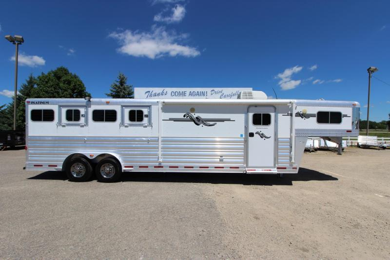 2011 Platinum Coach 4HR 10 LQ Horse Trailer