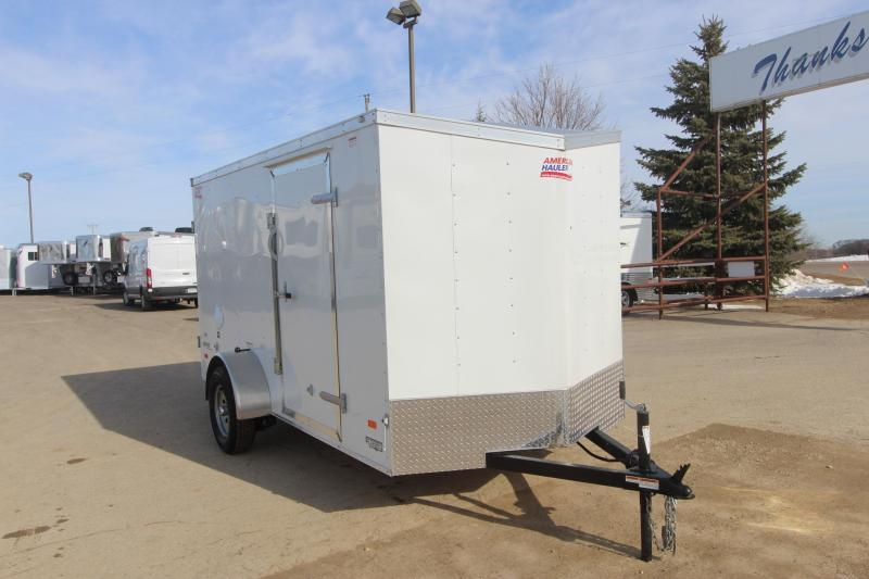 2018 American Hauler Industries Arrow 6x12 Enclosed Cargo Trailer