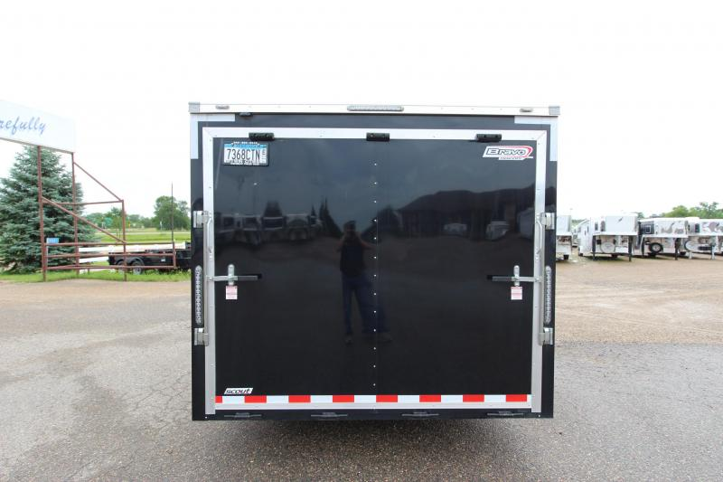2019 Bravo Trailers 8.5 x 20 Scout Car / Racing Trailer