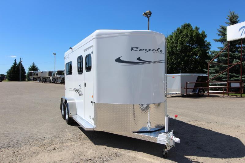2019 Trails West Manufacturing Royale 2HR BP Horse Trailer