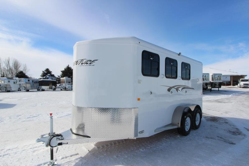 2019 Trails West Manufacturing Adventure II MX 3HR BP Horse Trailer