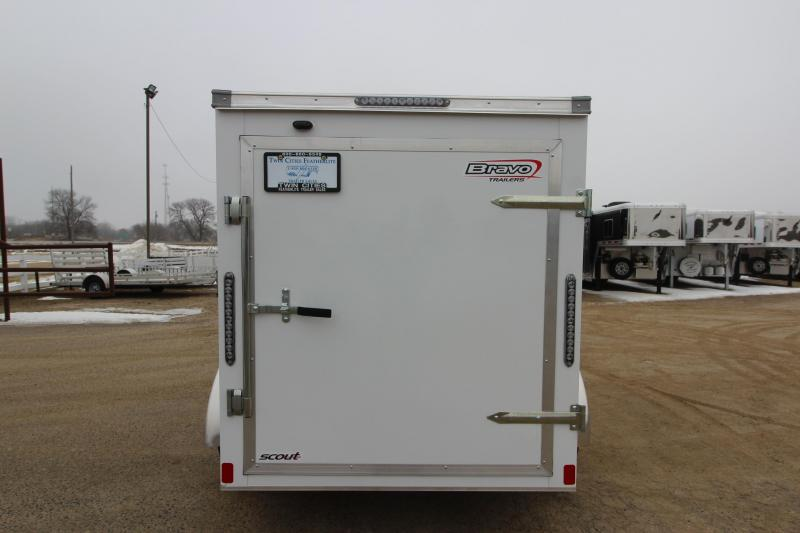 2019 Bravo Trailers Scout 5x8 Enclosed Cargo Trailer