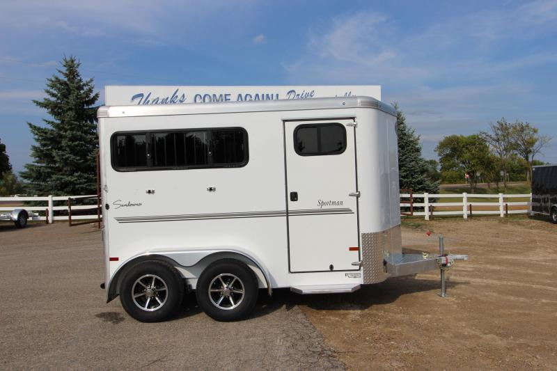2018 Sundowner Trailers 2HR Horse Trailer