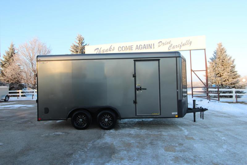 2015 Haulmark 8x16 BP Enclosed Cargo Trailer