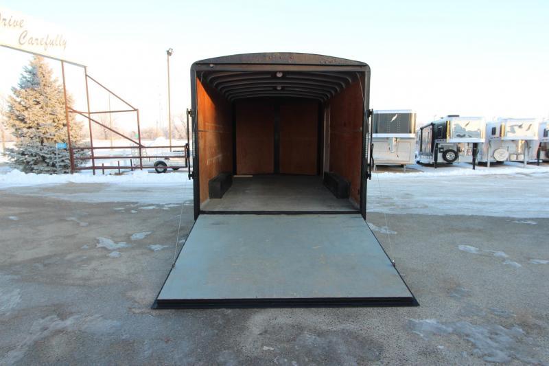 2015 H&H 8x16 BP Enclosed Cargo Trailer