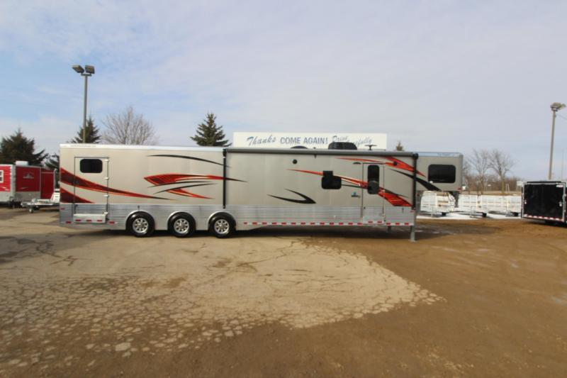 2018 Sundowner Trailers 16 LQ 20 garage Toy Hauler