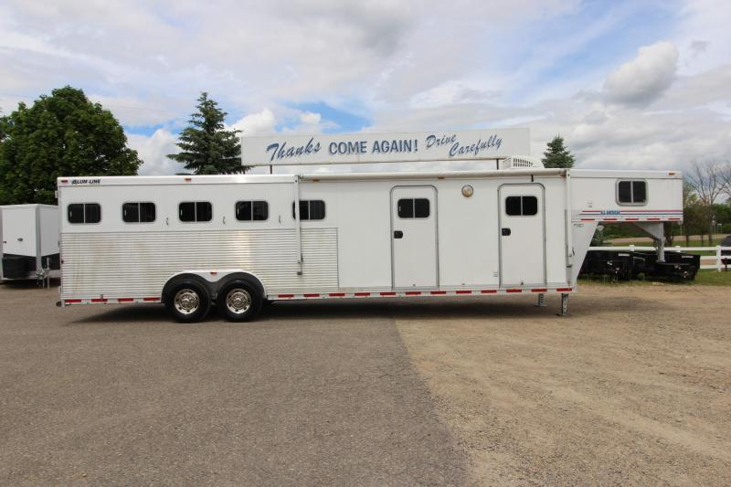 2003 Alum-Line Trailers 5HR MT Weekender Horse Trailer