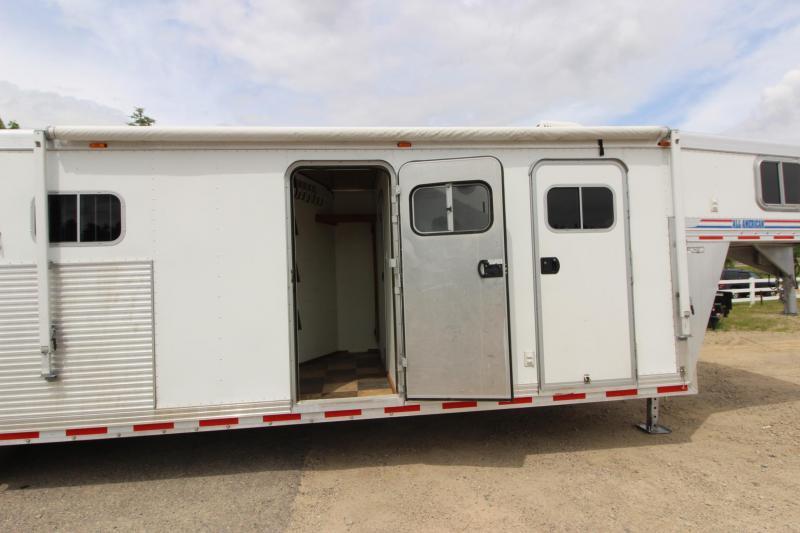 2003 Alum-Line Trailers 5HR MT Weekender Horse Trailer