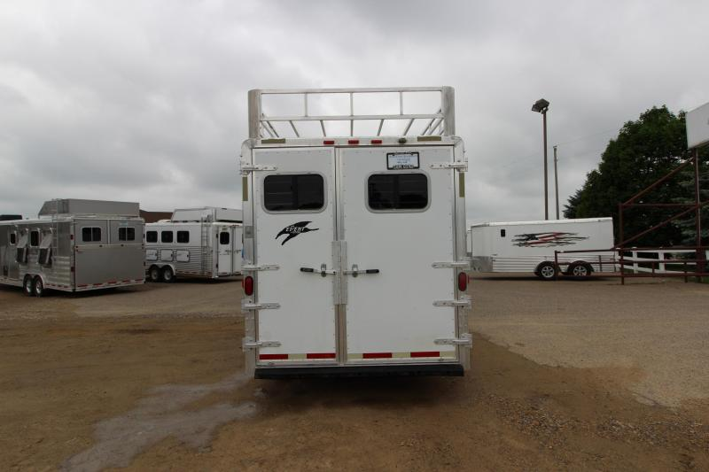 2002 Exiss Trailers 6HR GN Horse Trailer