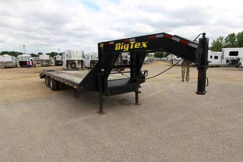 2013 Big Tex Trailers 22GN 20 5 Equipment Trailer
