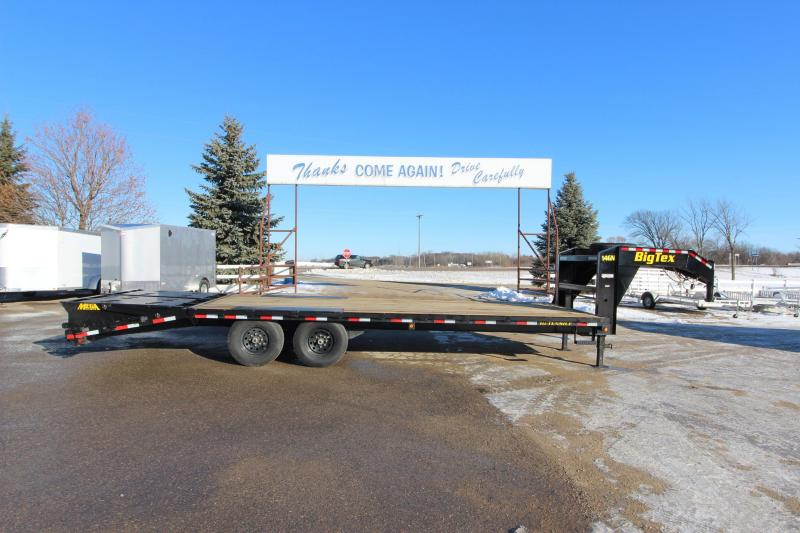 2019 Big Tex Trailers 14GN 205 Flatbed Trailer in Hazelhurst, WI