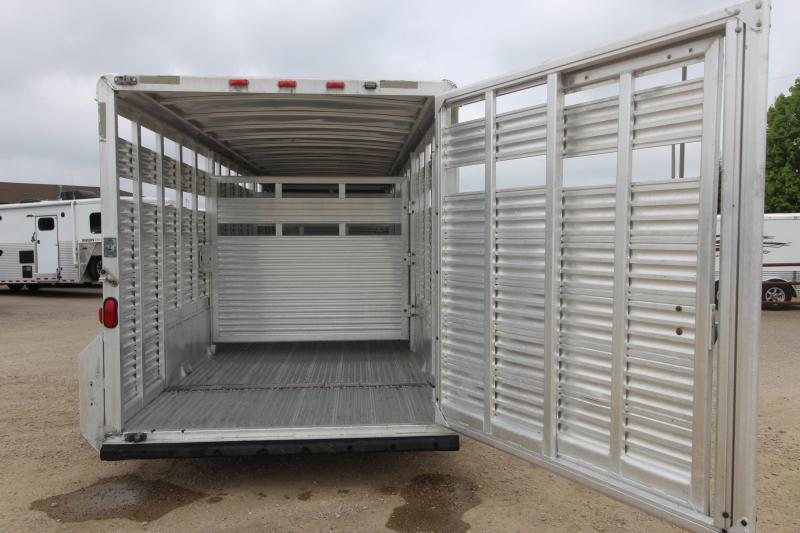 2003 Exiss Trailers 7x24 7 (H) Livestock Trailer