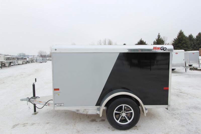 2019 Sundowner Trailers Mini Go 5x8 Enclosed Cargo Trailer