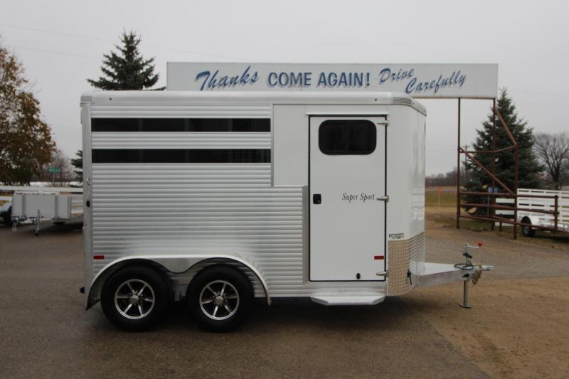 2018 Sundowner Trailers Super Sport 2HR BP Horse Trailer