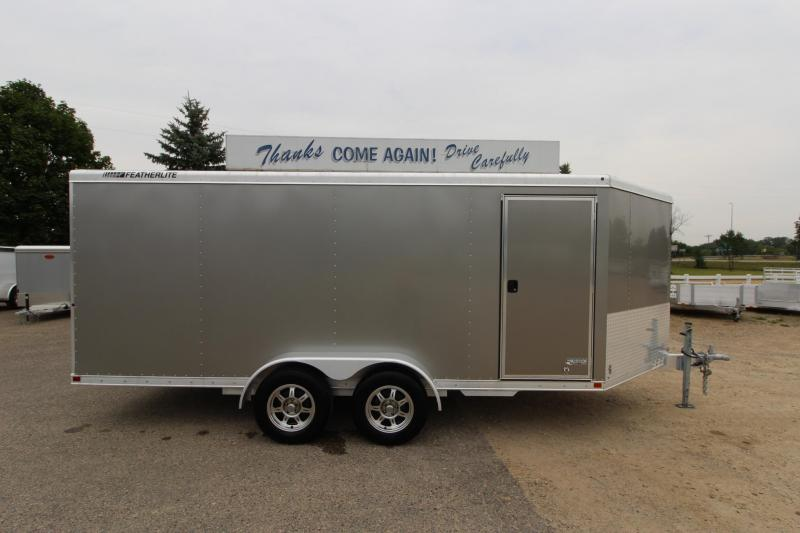 2011 Featherlite 1610v 16 Snowmobile Trailer