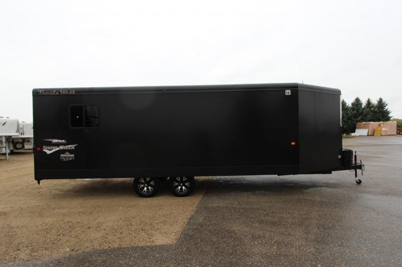 2019 Trails West Manufacturing RPM 28 BP Snowmobile Trailer