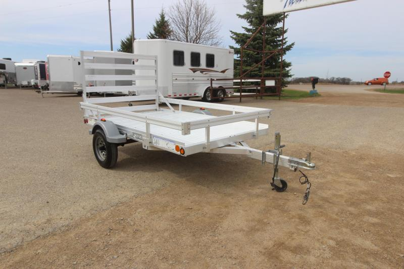 2006 Newman Sled Bed 5x8 Utility Trailer