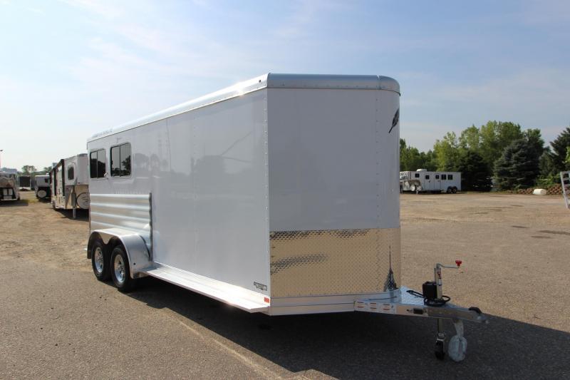 """2020 Featherlite 9409 2HR 52"""" D/R Horse Trailer"""